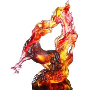 Liuli Crystal-Prosperous Honor