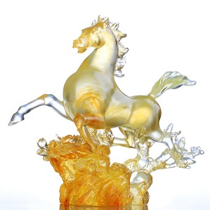 Liuli Crystal-Dancing in the Spring Breeze