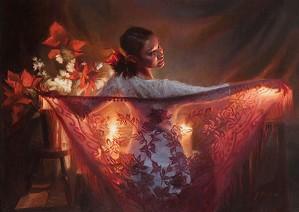 JoAnn Peralta-Spanish Shawl