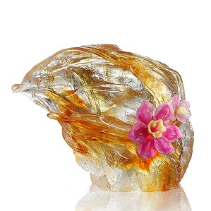 Liuli Crystal-Peach Blossom Spring - Narcissus