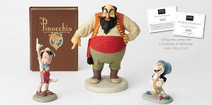 Walt Disney Archives-Stromboli & Pinocchio & Jiminy Cricket Marquette From Pinocchio