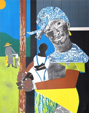 Romare Bearden-Come Sunday Mother and Child