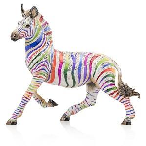 Jay Strongwater-Ansel Zebra Figurine