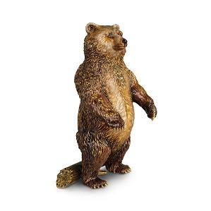 Jay Strongwater-Woodrow Bear Figurine