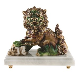 Jay Strongwater-Yin Foo Dog Figurine