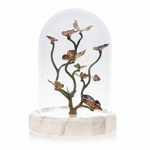 Jay Strongwater-Aldora Butterfly Branch Cloche