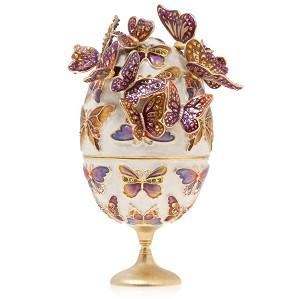Jay Strongwater-Sunset - Butterfly Egg Objet