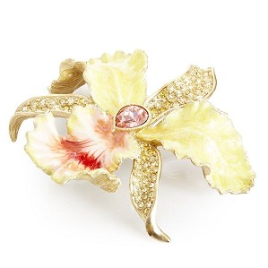 Jay Strongwater-Leya Orchid Table Objet