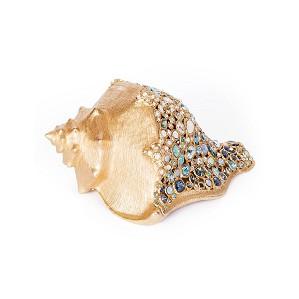 Jay Strongwater-Geneva Conch Shell Figurine