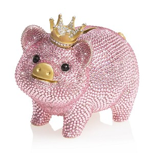 Jay Strongwater-Gatsby - Pave Piggy Bank