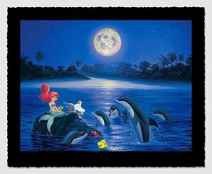Wyland-Ariel's Dolphin Serenade