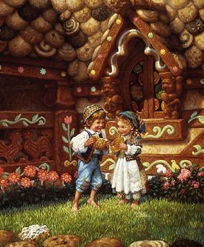 Scott Gustafson-Hansel And Gretel Limited Edition Print