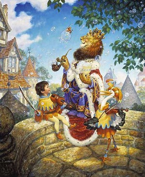 Scott Gustafson-Old King Cole Limited Edition Print