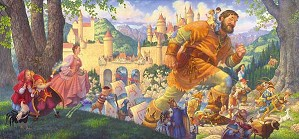 Scott Gustafson-Happily Ever After Masterwork Canvas Edition