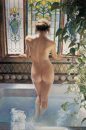 Steve Hanks-Morning Bath
