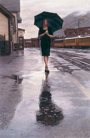 Steve Hanks-Waiting in the Rain