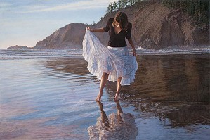 Steve Hanks-Reflecting on Indian Beach Limited Edition