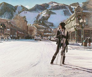 Steve Hanks-Aspen Winter