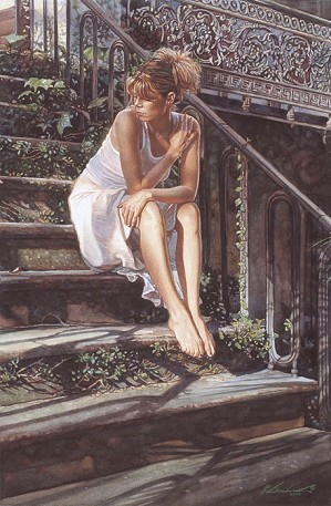 Steve Hanks-Contemplating the Necessary Steps