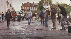 Steve Hanks-New Orleans Celebrating Life Death and the Pursuit of Happiness MASTERWORK EDITION ON