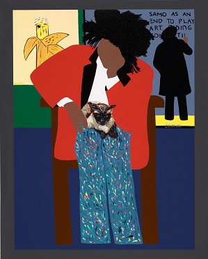 Synthia SAINT JAMES-A Tribute To Jean-michel Basquiat