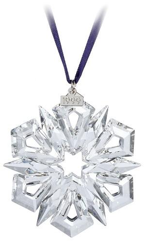 Swarovski-1999 Swarovski Snowflake Ornament