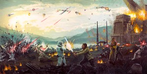 Christopher Clark-Attack on Takodana