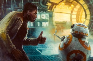 Lucas Films Star Wars Art