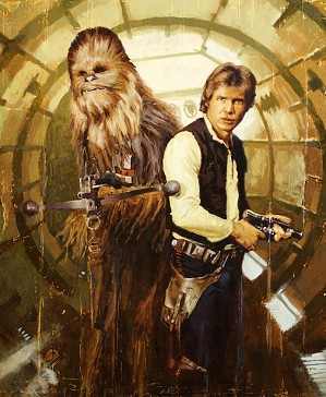Christopher Clark-Han and Chewie