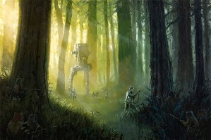 Christopher Clark-Patrolling the Endor Moon