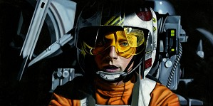 Star Wars Limited Edition Art Damien Friesz