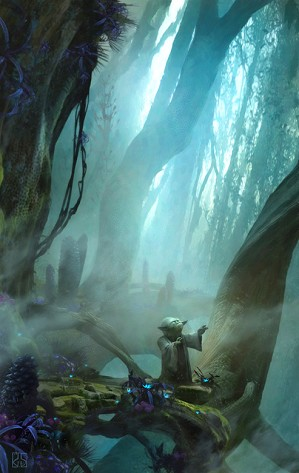 Stephan Martiniere-There Is No Try From Star Wars