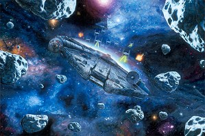 Rob Surette-You're Not Actually Going INTO an Asteroid Field
