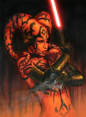 Star Wars Limited Edition Art Jerry Vanderstelt