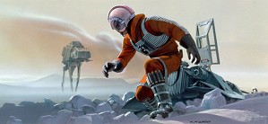 Ralph McQuarrie-Luke on Hoth
