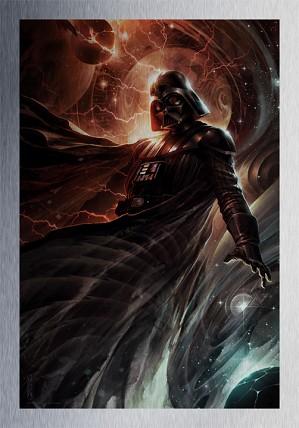Raymond Swanland-Center of the Storm From Lucas Films Star Wars Metallic Print