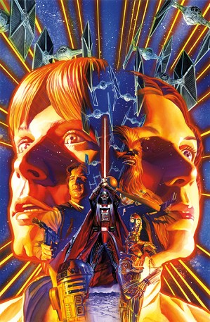 Star Wars Limited Edition Art Alex Ross.
