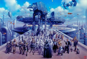 Tsuneo Sanda-Cloud City Celebration (Small)