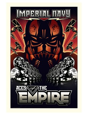 Mike Kungl-Aces of the Empire - Large From Lucas Films Star Wars
