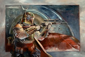 Lee Kohse-Boba Fett with Slave 1