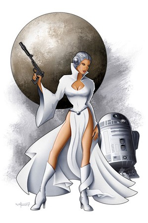 Mike Kungl-Leia From Lucas Films Star Wars
