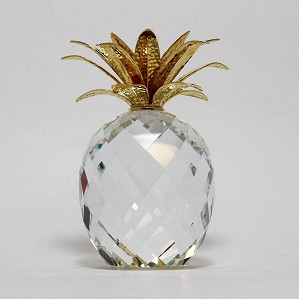 Swarovski Crystal-Giant Pineapple Gold