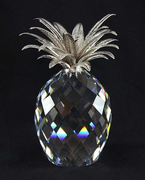 Swarovski Crystal-Giant Pineapple Silver