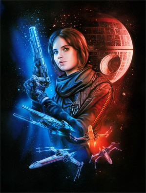 Star Wars Limited Edition Art Claudio Aboy