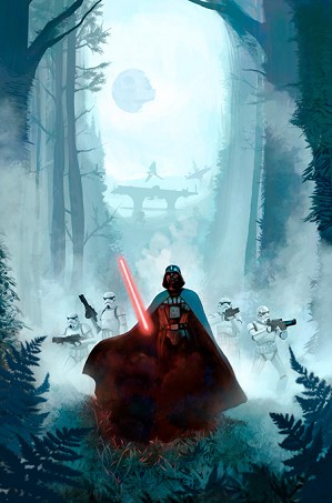 Star Wars Limited Edition Art Jeremy Saliba
