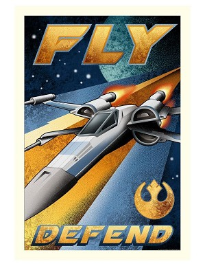 Mike Kungl-Fly and Defend From Lucas Films Star