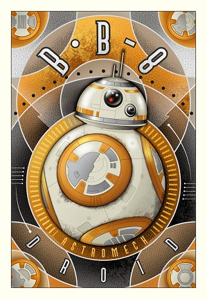 Mike Kungl-BB-8 Astromech Droid - From Star Wars