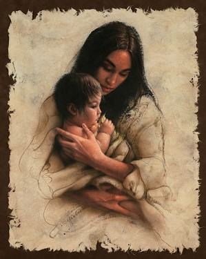 Lee Bogle-Sacred Gift Artist Proof Hand Enhanced