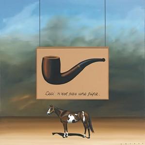 Robert Deyber-Paint Horse Magritte