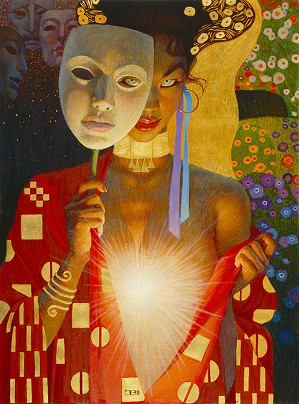 Thomas Blackshear-Intimacy (serigraph) Original Release